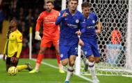 'Bom tấn' nổ súng, Chelsea giành 3 điểm nhọc nhằn trước Watford