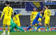 Dortmund 'phơi áo' sau màn ngược dòng xuất sắc của Hoffenheim