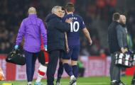 Không chỉ thua trận, Tottenham còn đau hơn với hình ảnh trụ cột của mình
