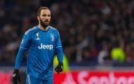 Phong độ tồi tệ, Higuain sắp bị Juventus 'tống khứ' sang Tây Ban Nha?