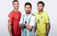Cựu HLV Arsenal: 'Neymar là cầu thủ hay nhất thế giới sau CR7 và M10'