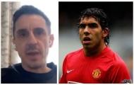 Gary Neville tỏ thái độ bất mãn với 1 cựu sao Man United