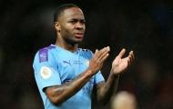 Man City tự tin 'trói chặt' Raheem Sterling trước sự dòm ngó từ Man United