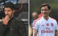 Mikel Arteta chỉ ra nguyên nhân Ozil vắng mặt trước Man City