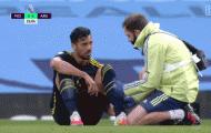 Tân binh Arsenal nghỉ hết mùa giải vì chấn thương