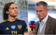 Cựu sao MU thay David Luiz 'đáp trả' Jamie Carragher