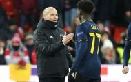 Bukayo Saka: 'Tôi rất biết ơn khi được làm việc cùng ông ấy'