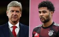 Wenger từ chối Bayern, Gnabry lập tức tiên đoán 1 điều