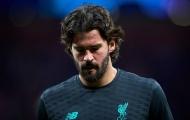 Liverpool toang mạnh, đến lượt Alisson bất ổn