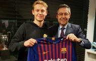 'Nếu vì tiền, De Jong đã không chọn đến Barcelona'