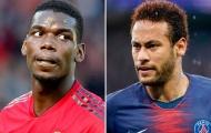 Pogba - Neymar đổi chỗ, CĐV Man Utd phản ứng thế nào?
