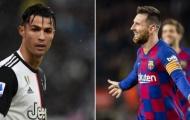 Messi và Ronaldo 'cân' cả Man Utd trong 10 năm qua