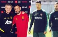 Chính Ronaldo đã giúp Man Utd có Fernandes