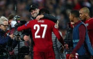 Sao dự bị Liverpool tiết lộ ngôn từ truyền cảm hứng của Jurgen Klopp