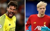 Thi đấu xuất sắc, thủ môn trẻ Liverpool được HLV so sánh với Alisson