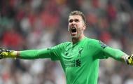 Đây, những điều khiến HLV Liverpool đánh giá cao Adrian