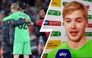 Sắm vai ''người hùng penalty'', sao trẻ Liverpool chia sẻ đầy phấn khích