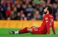 Vội về quê nhà, Salah đối diện nguy cơ chấn thương mắt cá