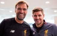 'Gerrard thường xuyên liên lạc với Klopp và lãnh đạo Liverpool'