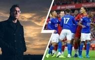 Nhạc công nổi tiếng cổ vũ Leicester đánh bại Liverpool
