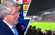 Khiêu khích The Kop, chủ tịch Atletico buông lời chê bai sân Anfield