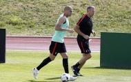 Pepe vẫn tập riêng, chưa chắc đá chung kết