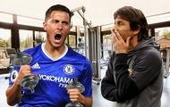Conte lệnh cho Hazard phải tăng cân!