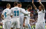 Real Madrid công bố danh sách cầu thủ cho trận đấu với Ajax