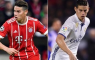 Đại chiến Bayern – Real: Đi tìm phiên bản hoàn hảo nhất của James Rodriguez