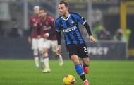 """Eriksen khiến Conte """"đau đầu"""" trước trận đấu với Juventus"""