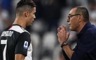 Sarri nhắc nhở Ronaldo trước trận đấu với Inter Milan