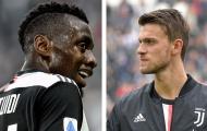 CHÍNH THỨC: Juventus báo tin vui về Rugani và Matuidi giữa đại dịch COVID-19