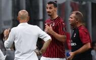 Lộ lý do Ibrahimovic tức giận với HLV trong chiến thắng của AC Milan