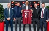 Đã rõ tương lai của Ibrahimovic tại AC Milan