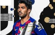Chia tay Barca, Suarez trở thành đồng đội của Chiellini tại Juventus?