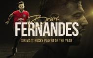 CHÍNH THỨC: Vượt Martial, Bruno nhận giải thưởng cao quý tại Man Utd