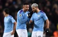 Aguero và Jesus báo tin vui cho Man City