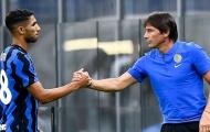 Hòa Gladbach, Conte báo 'tin dữ' về lực lượng của Inter Milan