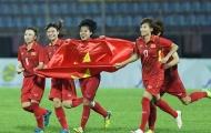 ĐT nữ Việt Nam hội quân vào ngày 3/1 để chuẩn bị cho VCK Asian Cup nữ 2018