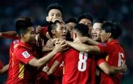 """ĐT Việt Nam duy trì vị trí """"độc tôn"""" ở khu vực Đông Nam Á"""