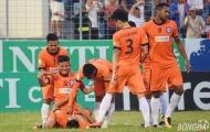 Đức Chinh khai hỏa, SHB Đà Nẵng khiến Sài Gòn FC đội sổ