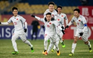 CHÍNH THỨC: Chốt danh sách 30 cầu thủ Olympic Việt Nam chuẩn bị giải Tứ hùng 2018