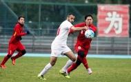 U23 Việt Nam đấu dàn 'sao' châu Âu của U23 Palestine