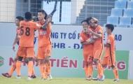 Cựu tuyển thủ U23 Việt Nam ghi bàn, SHB Đà Nẵng tiễn XSKT Cần Thơ về gần hạng nhất