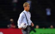 Keisuke Honda đặt quyết tâm đánh bại Việt Nam trên sân Hàng Đẫy