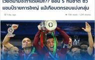 Báo Thái ví ĐT Việt Nam giống Bồ Đào Nha tại Euro 2016