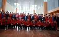 Điểm tin bóng đá Việt Nam tối 26/01: ĐT Việt Nam về trong vòng tay yêu thương của NHM