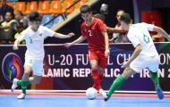Ngược dòng bất thành, U20 Việt Nam dừng chân ở Tứ kết giải U20 Futsal châu Á