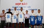 Chân sút 'khủng' nhất lịch sử V-League ra mắt đội bóng mới