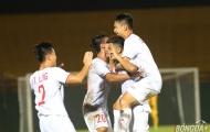 Nguyên Hoàng tỏa sáng, U18 Việt Nam thắng dễ U18 Singapore